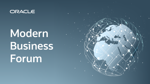 Oracle Modern Business Forum 2019 - Zagreb