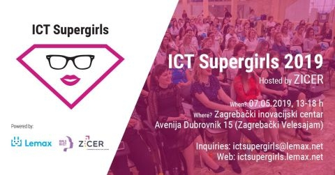 ICT Supergirls 2019 - Zagreb
