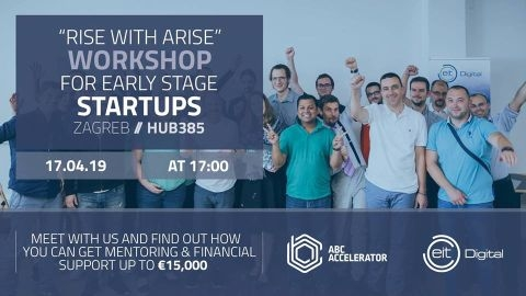 Rise with Arise - Workshop for Early Stage Startups - Zagreb